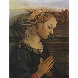 Praying Madonna Filippo Lippi c1465