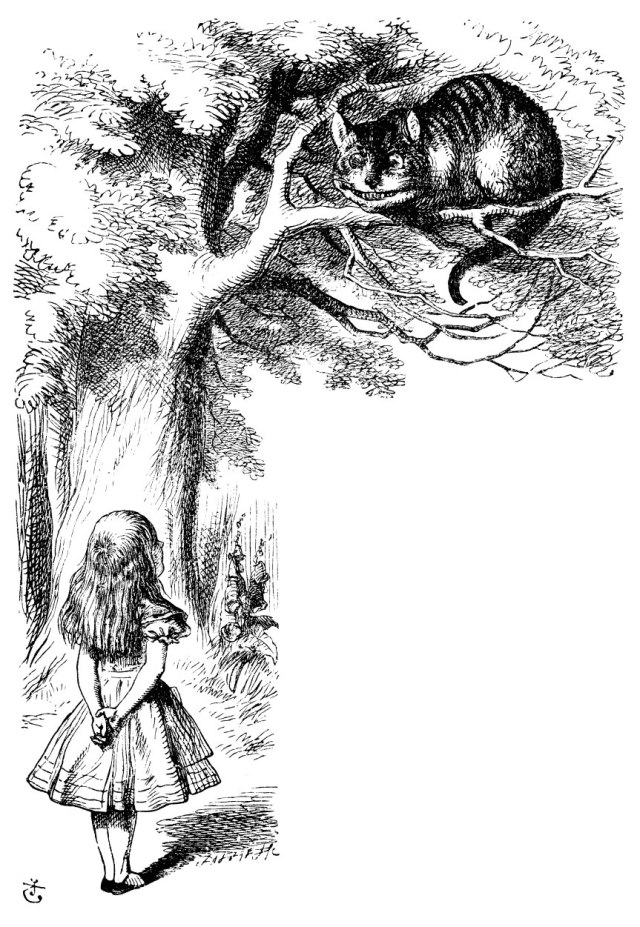 Alice and the Chestshire Cat
