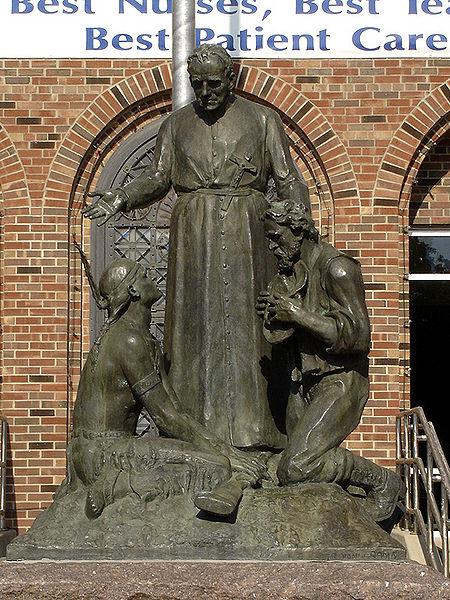 Pierz statue